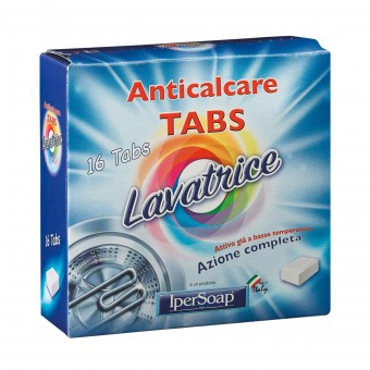 IPERSOAP ANTICALCARE LAVATRICE 16 TABS
