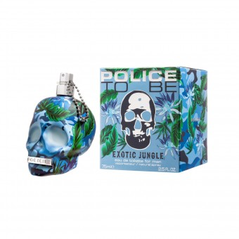 POLICE TO BE EXOTIC JUNGLE FOR MAN EDT VAPO 75 ML