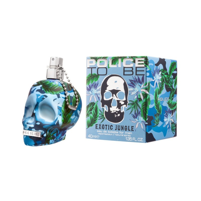 POLICE TO BE EXOTIC JUNGLE FOR MAN EDT VAPO 40 ML