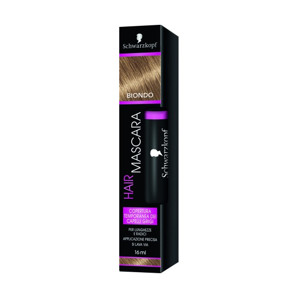 SCHWARZKOPF HAIR MASCARA BIONDO COPERTURA TEMPORANEA 16 ML, COLORANTI, S154152, 71043