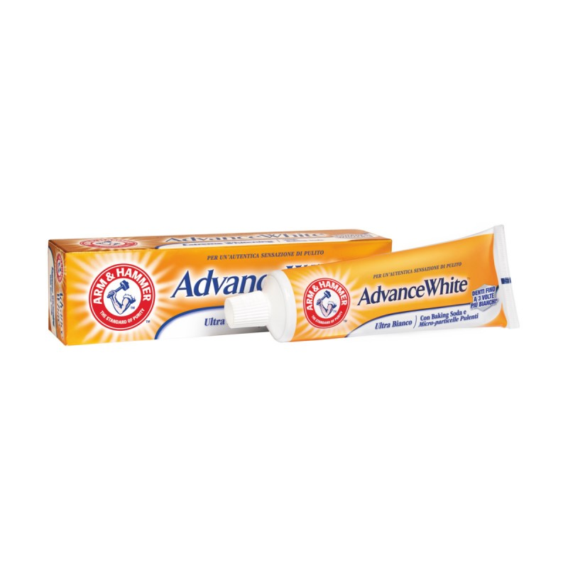 ARM & HAMMER DENTIFRICIO ADVANCE WHITE ULTRA BIANCO CON BAKING SODA 75 ML