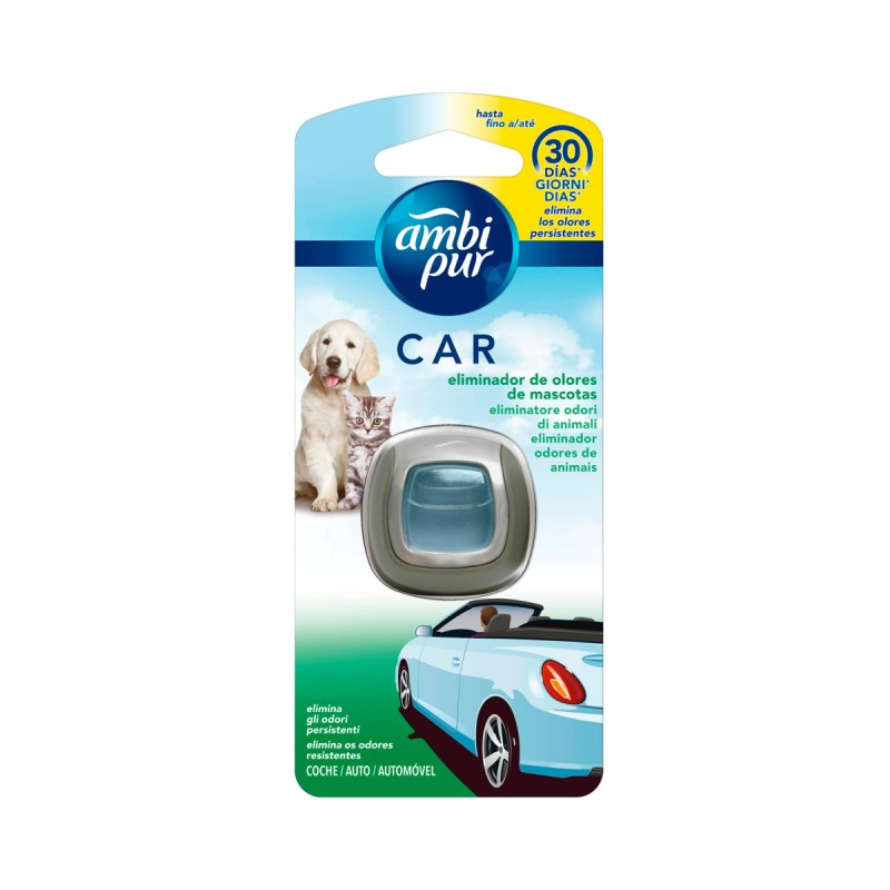 AMBIPUR CAR DEODORANTE USA & GETTA 30 GIORNI PET