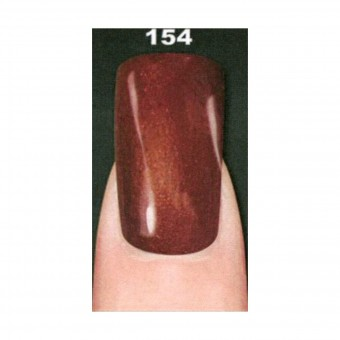 LAYLA SMALTO IN GEL COLOR.REMOVIBLE N154 GOLDY RED