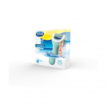 SCHOLL VELVET SMOOTH WET&DRY RICARICABILE