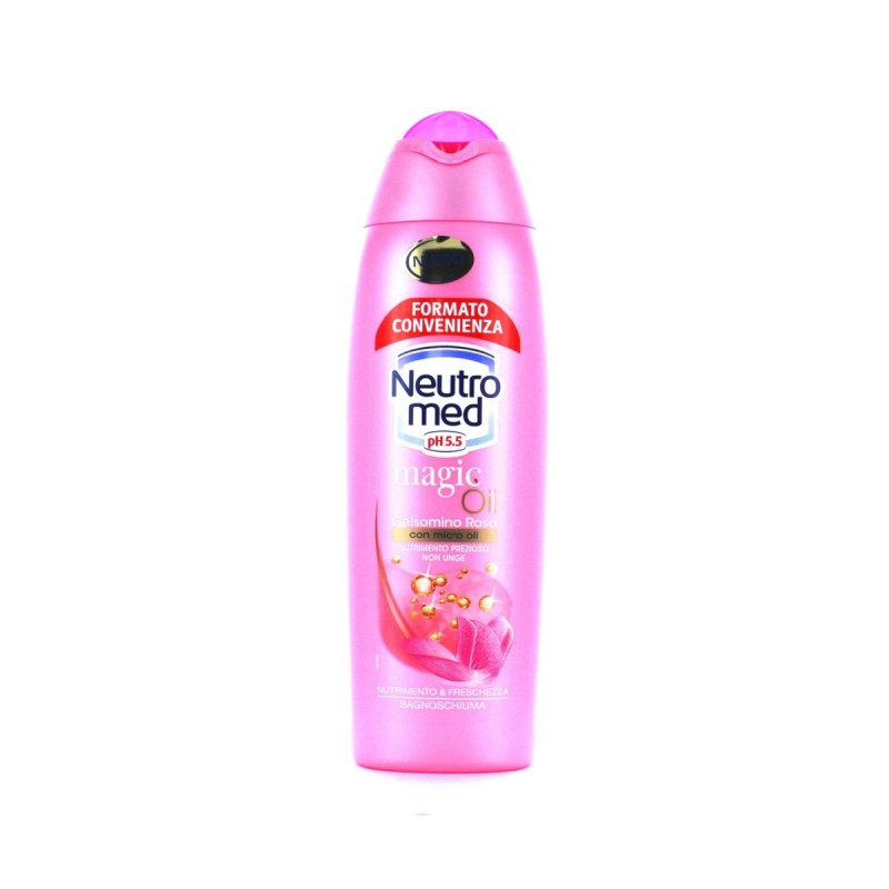 NEUTROMED BAGNOSCHIUMA MAGIC OIL GELSOMINO ROSA 750 ML