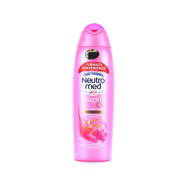 NEUTROMED BAGNOSCHIUMA MAGIC OIL GELSOMINO ROSA 750 ML, BAGNO/DOCCIA SCHIUMA, S126935, 76579