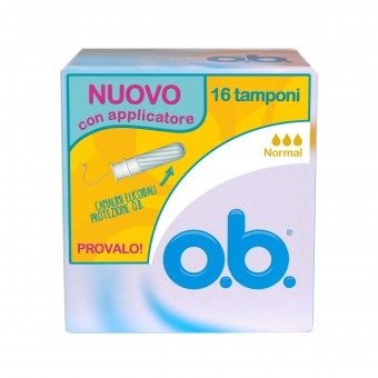 OB NORMALI 16 PZ.CON APPLICATORE ASSORBENTI INTERNI