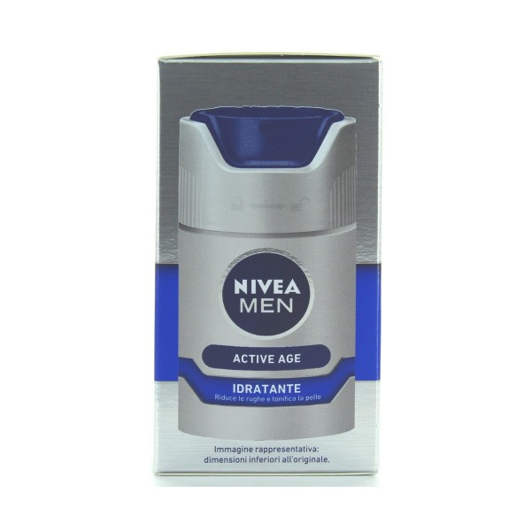 NIVEA FOR MEN CREMA IDRATANTE ANTIRUGHE DNAge 50 ML, CURA VISO UOMO, S042235, 79297