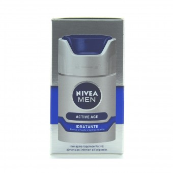 NIVEA FOR MEN CREMA IDRATANTE ANTIRUGHE DNAge 50 ML