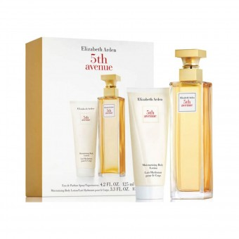 ELIZABETH ARDEN 5th AVENUE DONNA COFANETTO EDP 125 ML + BODY LOTION 100 ML